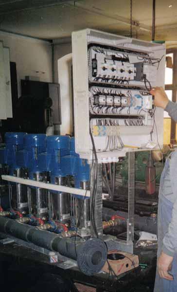 Anlagenbau: In-Line Pumpen