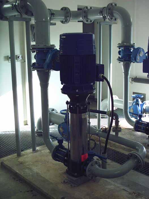 Anlagenbau: Neuanfertigung der Rohrleitungen